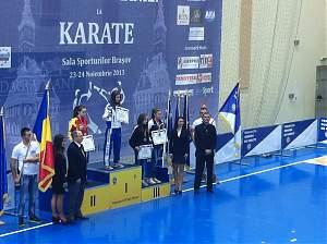Botoşăneni, medaliaţi la Openul României la Karate