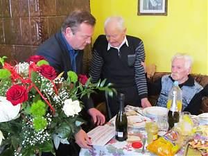 Dorohoianul Ioan Tanasă a fost sărbătorit la împlinirea vârstei de o sută de ani