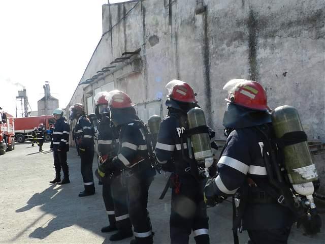 Simulare ISU, la Roma, cu accident chimic