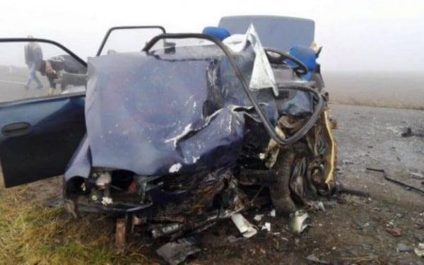 Accident mortal cu două victime, după coliziunea dintre două autoturisme