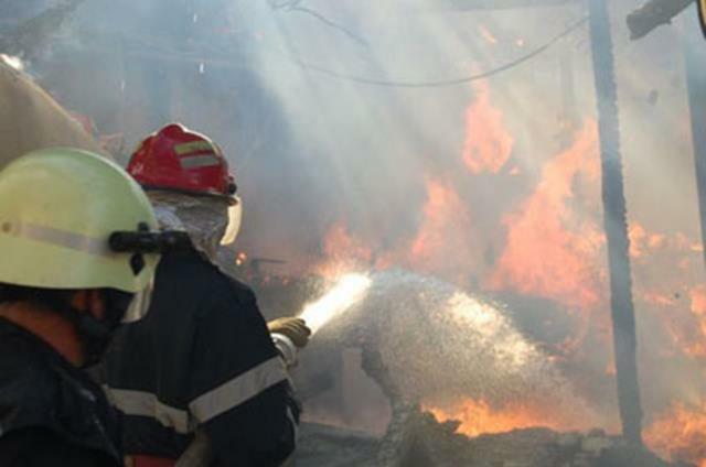 Furaje distruse într-un incendiu, la Vorniceni