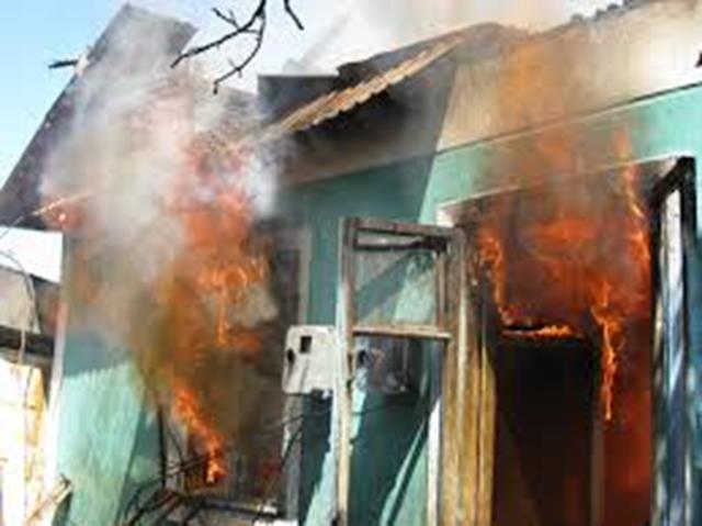 Incendiu cu victimă la Vlăsineşti