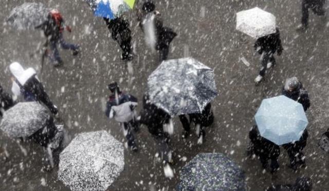 Cer noros, conditii de ploaie sau lapovita….astazi la Botosani