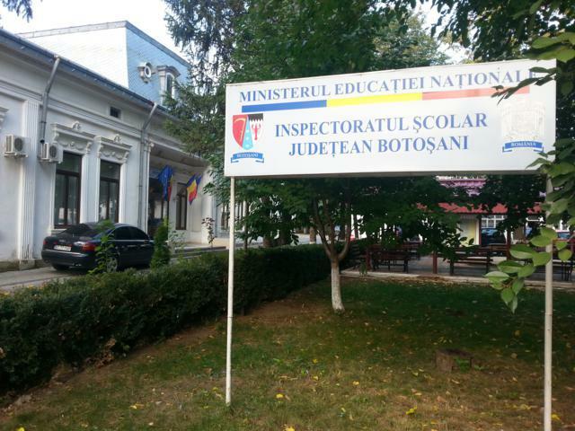 Ministerul Educației a numit un nou inspector școlar general la ISJ Botoșani