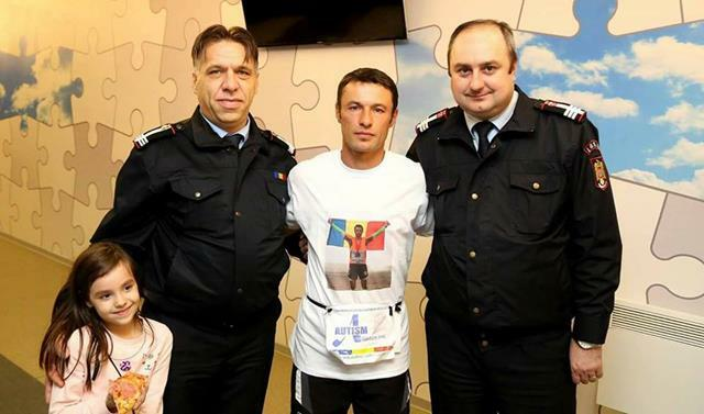 Pompier botoşănean declarat maratonistul anului 2016