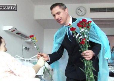 EVENIMENT8 Martie: Zâmbete şi flori, astăzi, la Maternitatea Botoşani             -VIDEO