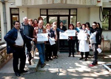 PROTESTProtest al angajaților Agenției pentru Protecția Mediului și Gărzii de Mediu