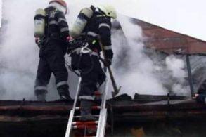 EVENIMENTLocuință distrusă de un coș de fum neprotejat termic