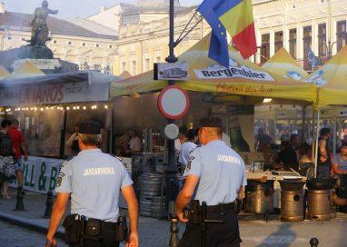 EVENIMENTJandarmii în misiune la Zilele orașului Botoșani