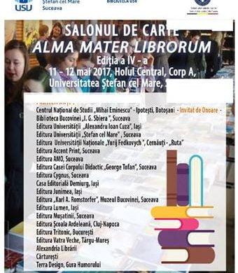 """CULTURAMemorialul Ipoteşti invitat de onoare la cea de a IV-a ediție a Salonului de carte """"Alma Mater Librorum"""""""
