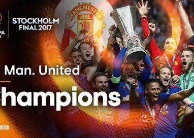 SPORT- FOTBALManchester United câștigă în premieră trofeul Europa League