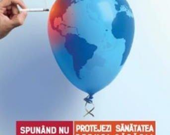 """EVENIMENTZIUA MONDIALĂ FĂRĂ TUTUN –  """"Tutunul –o amenințare în calea dezvoltării"""""""