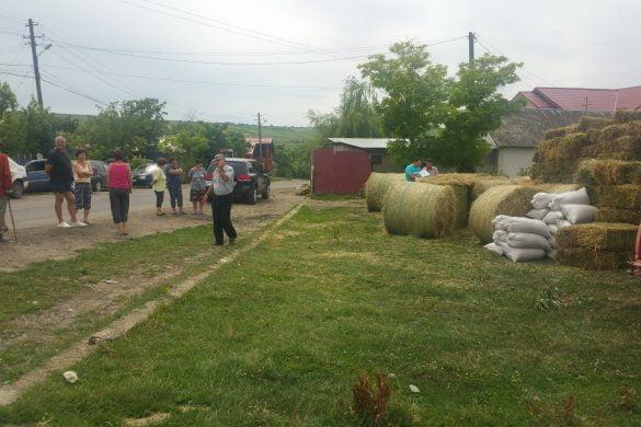 ADMINISTRATIEAjutoare din satele vecine pentru oamenii din Flondora    -FOTO