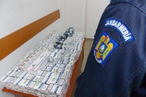 EVENIMENTȚigări de contrabandă confiscate de jandarmi