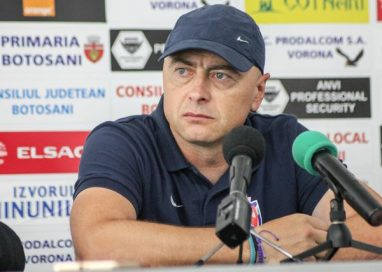 SPORT- FOTBALLeo Grozavu și-a luat adio de la FC Botoșani