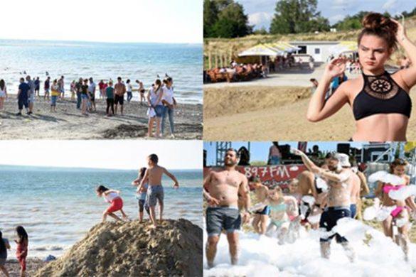 ADMINISTRATIEA început distracția pe plaja de la Stânca-Costești      – FOTO/VIDEO