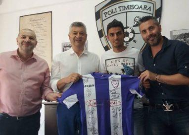 SPORT - FOTBALGabriel Vaşvari a semnat cu Poli Timişoara