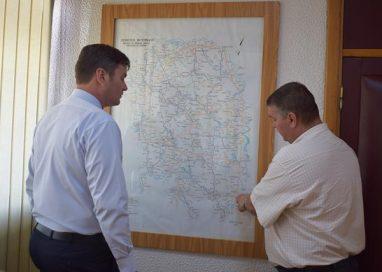 ADMINISTRATIELucrările de pe drumurile naționale ale județului, în atenția prefectului