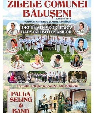 EVENIMENTZi de mare sărbătoare pentru locuitorii comunei Baluseni