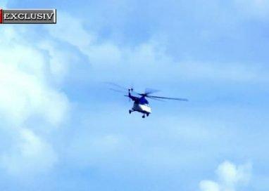 EVENIMENTJudeţul Botoșani a fost survolat de un elicopter al Ministerului de Interne  -VIDEO