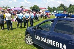 EVENIMENTPeste 200 de jandarmi  în misiuni de asigurare şi de menţinere a liniştii publice