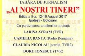 """EVENIMENTTabăra de jurnalism """"Ai noștri tineri"""",  un eveniment dedicat lui Eminescu, jurnalistul"""
