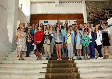 EVENIMENTCopii din Raionul Criuleni (Republica Moldova), in vizita la Botosani