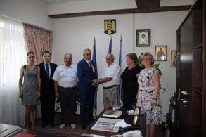 ADMINISTRATIEDelegație a Consiliului Raional Noua Suliță din Ucraina, în vizită la CJ Botoșani