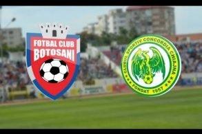 SPORT - FOTBALAstăzi, FC Botoșani – Concordia Chiajna, de la ora 18:30