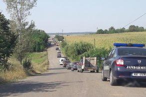 ADMINISTRATIESute de șoferi din județ au protestat pentru drumuri