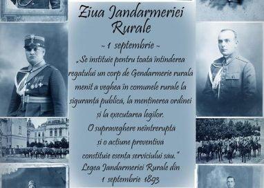 EVENIMENT124 de ani de la înființarea Jandarmeriei Rurale