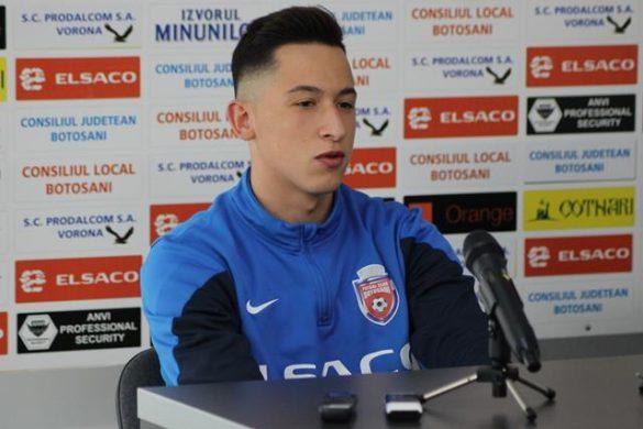 "SPORT- FOTBALMORUTAN:   ""Vreau sa prind Play Off – ul cu FC Botosani"""