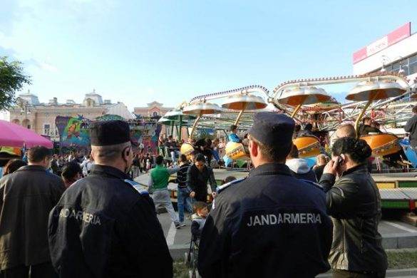 EVENIMENT110 jandarmi în misiuni de ordine publică în week-end