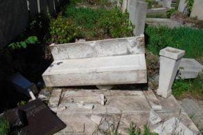 EVENIMENTVandalii din cimitirul Eternitatea au fost prinși de polițiști