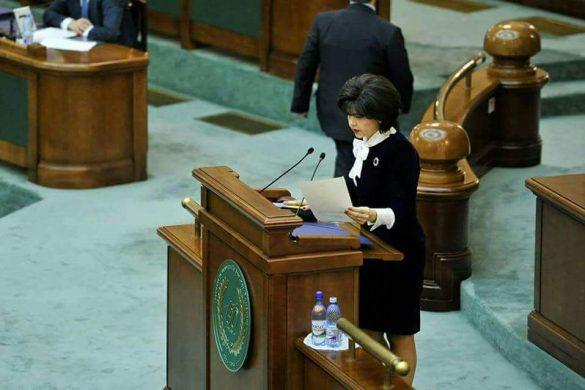 """POLITICADoina Federovici: """"Deși mai e mult de făcut, studenții au obținut de la actualul guvern cel mai mult de la Revoluție încoace"""