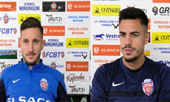 SPORT- FOTBALDeclaraţii ale jucătorilor botoşăneni înaintea meciului cu CFR Cluj