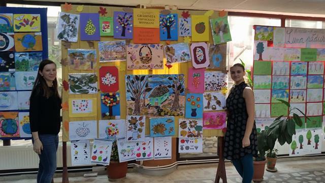 """EVENIMENTToamna prin suflet de copil""""- expoziţii de tablouri în spaţii publice"""