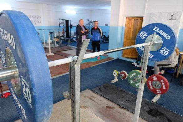 SPORTSecţia de haltere de la CS Botoşani a primit dotarea de care avea nevoie