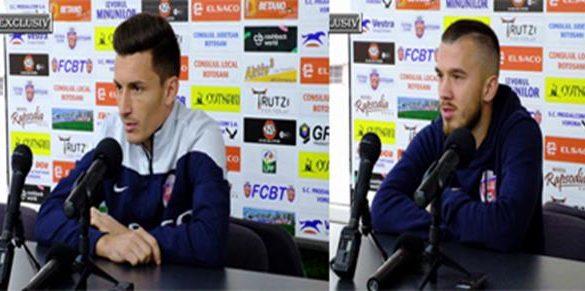 SPORT- FOTBALVEZI  declarațiile jucătorilor înaintea meciului cu Timișoara