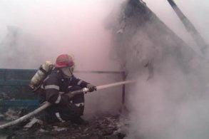 EVENIMENT134 de misiuni ale pompierilor botoşăneni în ultima săptămână