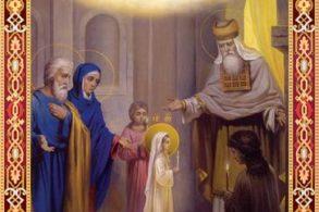 CALENDAR21 NOIEMBRIE:  Creștin ortodocșii sărbătoresc Intrarea Maicii Domnului în Biserica