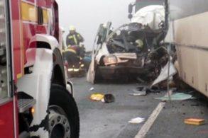 ACCIDENT - NAŢIONALUn microbuz cu nouă românce, implicat într-un accident, în Italia