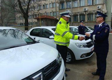 EVENIMENTMos Craciun a venit anul acesta cu masini noi la IPJ Botosani
