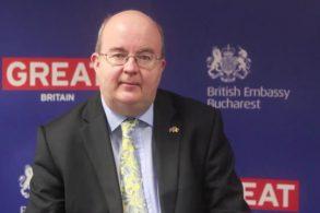 POLITICAAmbasadorul Marii Britanii la Bucureşti, Paul Brummell, vine la Botoșani