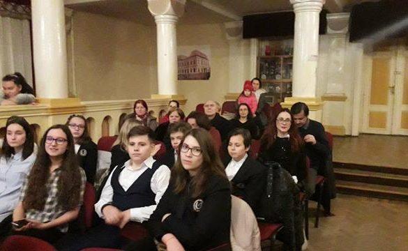 """EVENIMENTEveniment cultural dedicat Zilelor Eminescu  a avut loc în  Aula Magna a Colegiului Național """"A.T. Laurian"""""""