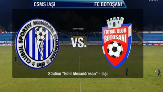 SPORT- FOTBALCSM Poli Iași și FC Botoșani într-un meci de totul sau nimic.  VEZI echipele probabile