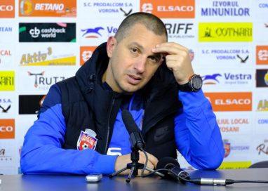 """SPORT- FOTBALFC Botoșani – Juventus București 0-0.  C. ENACHE:  """"Am jucat lent și nu am putut surprinde adversarul"""""""