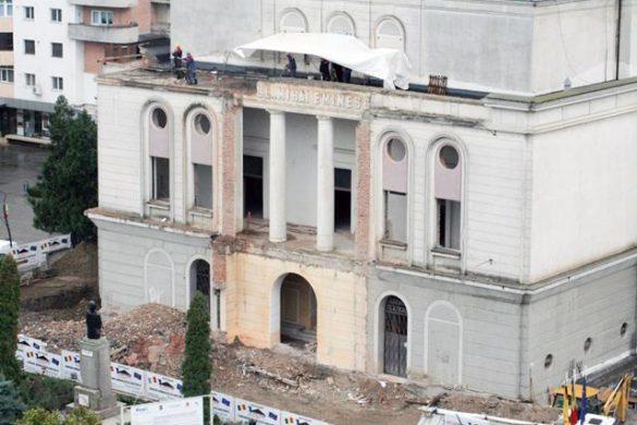 POLITICAReprezentanții social-democrați botoșăneni anunță deblocarea lucrărilor pentru Teatrul Mihai Eminescu