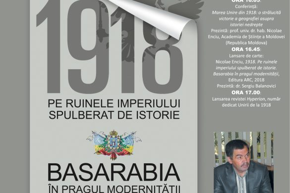 """CULTURACentrul Național de Studii """"Mihai Eminescu"""" inițiază o serie de conferințe dedicate Unirii de la 1918"""