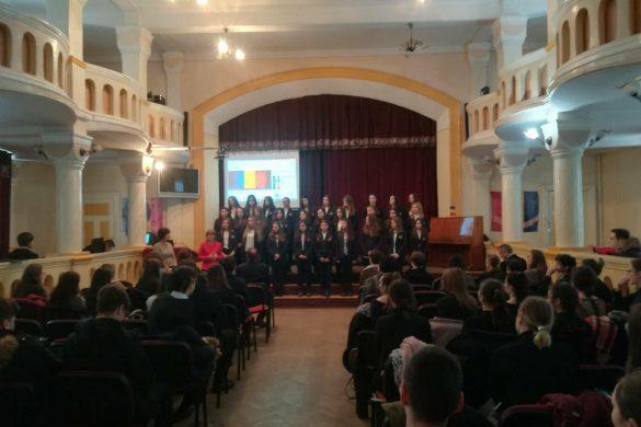 EDUCATIELaurianul a sărbătorit cei 100 de ani ai Unirii cu Basarabia